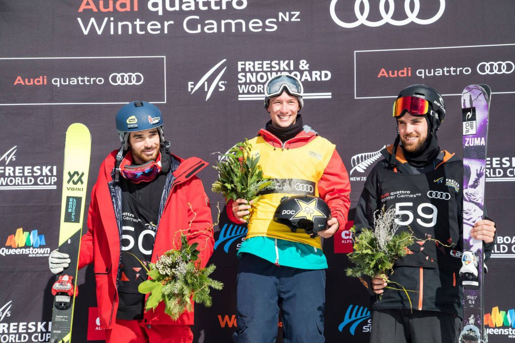 Cassie Sharpe wins Winter Games NZ